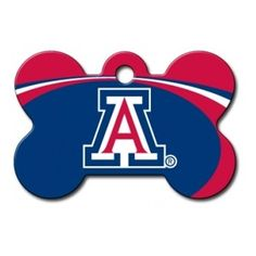 Shop where every purchase helps shelter pets! Arizona Wildcats Bone Pet ID Tag - from $11.95