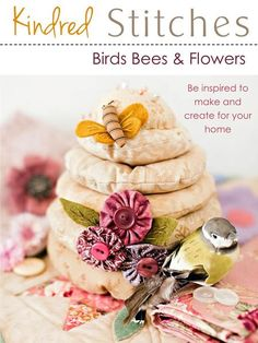 Kindred Stitches Magazine Special Issue - Birds, Bees & Flowers