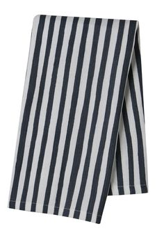 Pehr Selby Collection Blue Stripe Tea Towel