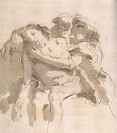 "The Deposition,"" by Giovanni Battista Tiepolo"