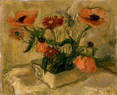 Henry Varnum Poor (American, 1888-1970) - Poppies, n.d.