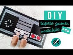 DIY TAPETE CONTROLE NES ❤ diy gamer nostalgia - GEEK TUTORIAIS