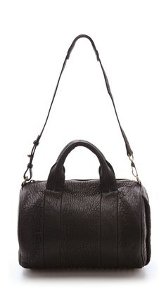 Alexander Wang Rocco Duffel with Gold Hardware. I love my Rocco bag. A bit heavy but still great.