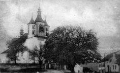 kostel sv. Bartoloměje před požárem roku 1918