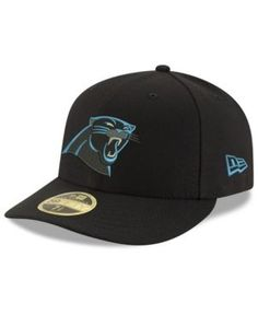 New Era Carolina Panthers Team Basic Low Profile 59FIFTY Fitted Cap - Black 7 3/4