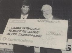In 1987 Commodore became shirt sponsor of Chelsea football club.  The Commodore logo would be on the shirts for 3 years.  Later, in 1993, it would be Amiga on the shirts for 2 years.