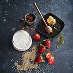 Quinoa with Strawberries and Buttermilk Recipe | MyRecipes.com