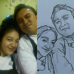 Me and you sketch