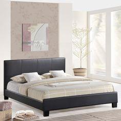 Alexandra Queen Size Bed Frame , EMFURN - 1