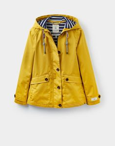Coast Antique Gold Waterproof Jacket  | Joules US