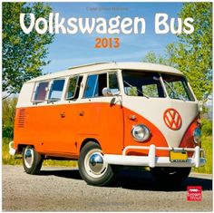 Volkswagen Bus 2013 Square 12X12 Wall Calendar (Multilingual Edition)