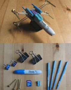 Office Supply X-Wing Fighter