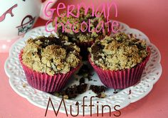 German Chocolate Muffins
