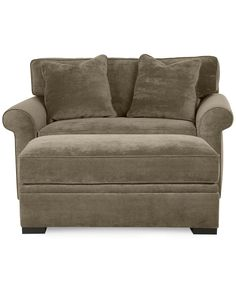 Chelsie Chairbed with Storage Ottoman - furniture - Macy's