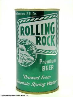vintage rolling rock - Google Search