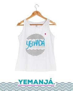 Vem lavar a fé de toda família Rainha! Regatinha Feminina. #2defevereiro #yemanjá