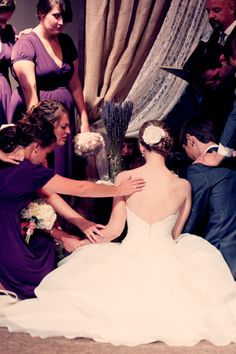 Covered in prayers on your big day.
