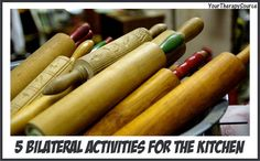 5 Bilateral Activities for the Kitchen | YourTherapySource.com Blog