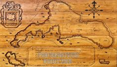 wooden island map - Google Search Wooden Island, Island Map, Vintage World Maps, Google Search