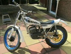 Trial Bike, Dirt Bikes, Back In The Day, Trials, Yamaha, Old School, Badass, Motorcycles, Twin