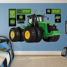 John Deere 9560R Tractor Real Big Fathead Wall Decals ...
