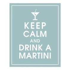 love a good dirty martini :)