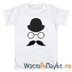 Мужская футболка Хипстер в шляпе 3 купить в интернет магазине WsemPoMayke.Ru http://wsempomayke.ru/product/manshort/1037341  Доставка по России курьером или почтой, оплата при получении. Посмотреть размеры и цену > http://wsempomayke.ru/product/manshort/1037341
