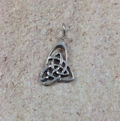 Sterling Silver Celtic Knot Charm 1 charm 13 x by marketplacebeads, $7.00 www.marketplacebeads.etsy.com