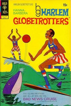 HB  The Harlem Globetrotters Comic Book Collection