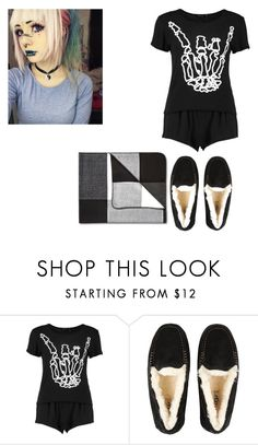 """Sleep wear"" by ashley-orie on Polyvore featuring UGG Australia and ADAM"