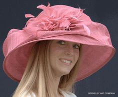 Sinamay Women's Kentucky Derby Hat. A little too formal for an Derby event at a bar, but very cute.