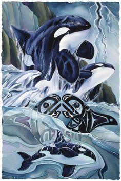 Bergsma Gallery Press::Paintings::Nature::Northwest::Breath of Power - Prints