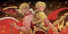 Gilgamesh/Archer - Fate/Stay Night and Fate/Prototype
