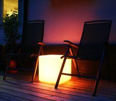 LED-Taburet - Cool taburet med lys i. Fås hos CoolStuff.dk