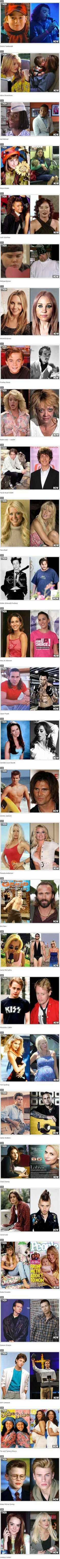 Celebrities: Then and Now!