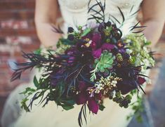 Dark and Moody Fall Wedding Inspiration Inspired By This Wedding Blog