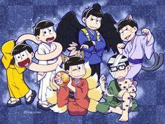 ◖HIATUS◗ Magenesmatsu [¡Imágenes, videos, comics y mucho mas! Me Me Me Anime, Anime Guys, Manga Anime, Anime Art, Yuki Onna, Sans Art, Ichimatsu, Artist Names, Plush Dolls