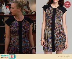 Penny's Thanksgiving Dress on The Big Bang Theory. Outfit Details: http://wornontv.net/23046 #TheBigBangTheory