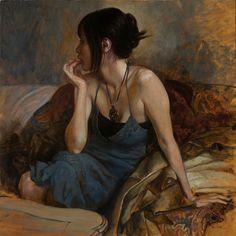 Osamu Obi - Portrait Painting
