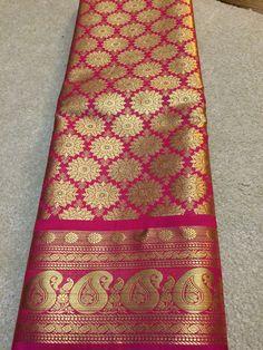 Ethnic kanjivaram saree $175