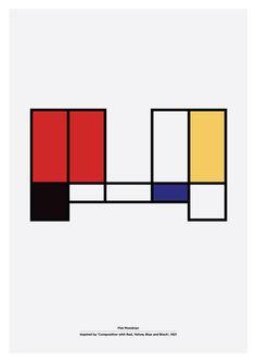 XX century Artists Alphabet - Marcin Plonka - Design & Typography