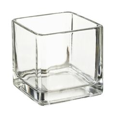 Deko Teelichtglas eckig 5 x5 cm NEU von A-Z-Bastelshop via dawanda.com Shops, Glass Texture, Decoration, Pantone, Red Wine, Cube, Candle Holders, Candles, Etsy