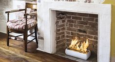 What a GREAT insert for a non-working fireplace!