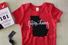 5616994e4 16 Best Georgia Bulldogs Babies images | Georgia bulldogs baby, Baby ...