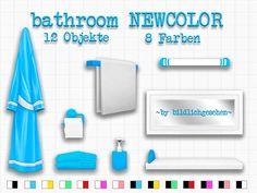bathroom NEWCOLOR – Sims 4 | akisima sims blog