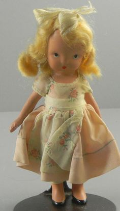 Nancy Ann StoryBook Doll Bisque Blond Hair #NancyAnn