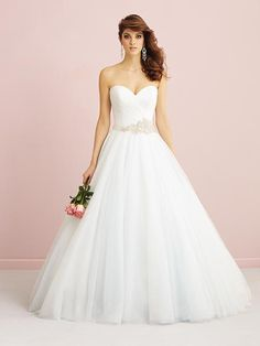 Allure Romance Style #2765. Available at It's Your Day Bridal Boutique. 1661 Front Road, LaSalle, Ontario 519-978-5003