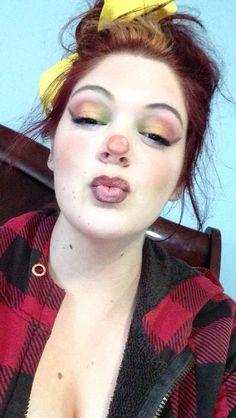 Clown makeup Halloween