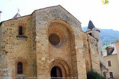 Église (XIIè, XVè s.) Saint-Pierre-et-Saint-Paul, Ispagnac, Lozère