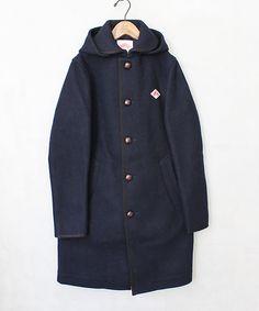 DANTON wool mosser coat